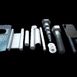 Produtos semi acabados ou acabados em Titânio