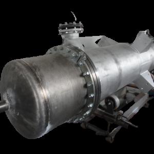 Trocador de calor projetado de titânio